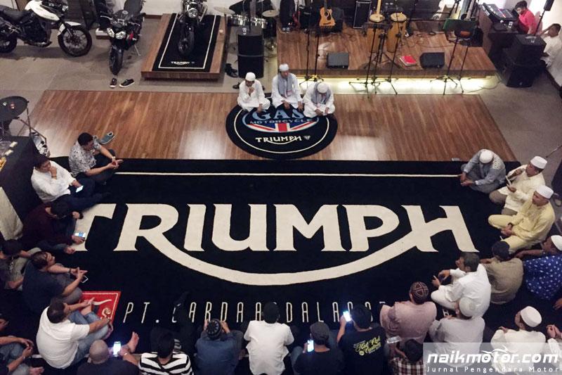 GAS Motorcycle Triumph Jakarta