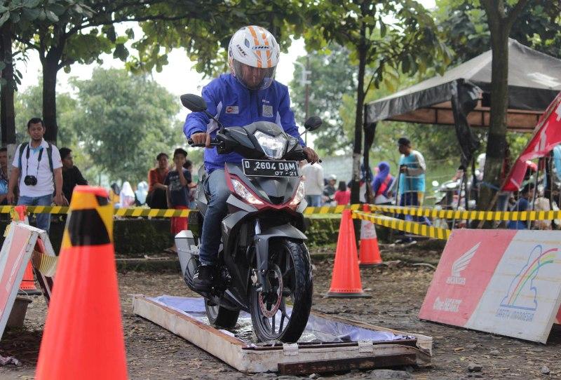 DAM Ajak All New Honda Supra GTR 150 Kelilling Jawa Barat