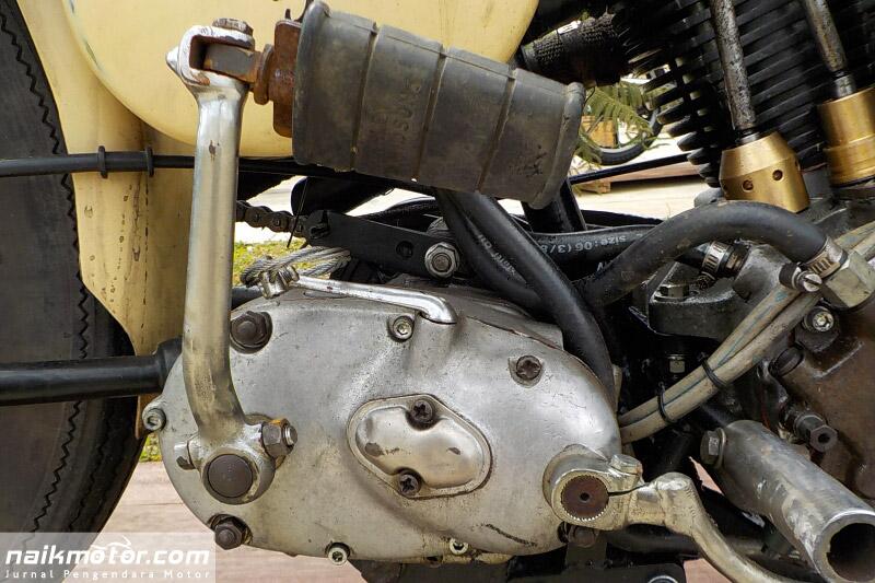 Harley-Davidson WLA 1948 Cawang Eight Lampaui Zaman