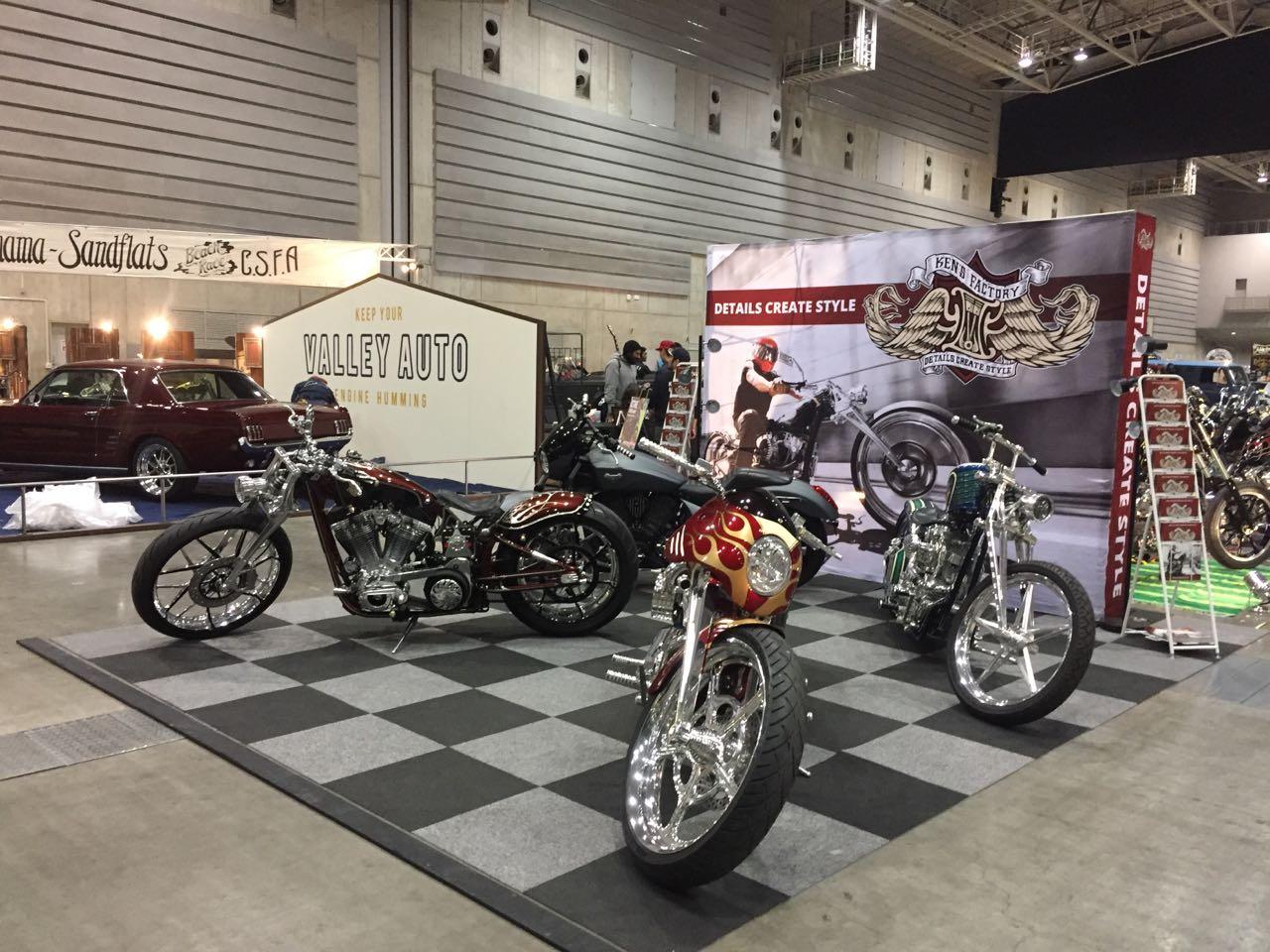 Daftar Motor Custom Terbaik di Yokohama Hot Rod Custom Show 2016