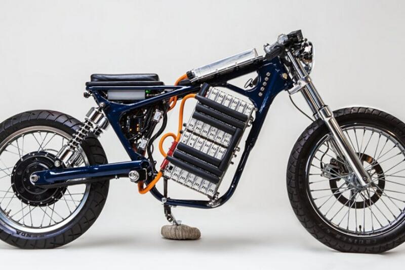 Suzuki Savage 650 berubahbwujud jadi sepeda motor listrik