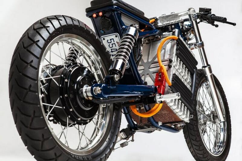 Suzuki Savage 650 Berubah Wujud Jadi Sepeda Motor Listrik