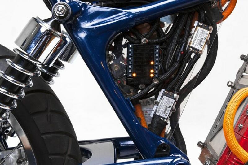 Suzuki Savage berubah wujud jadi sepeda motor listrik