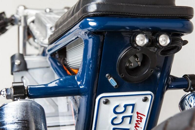 Suzuki Savage 650 berubah wujud menjadi sepeda motor listrik