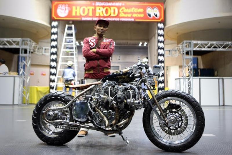 Tiger Lima Silinder 'Naga Lima' Bikin Pengunjung Yokohama HCS Terperanjat