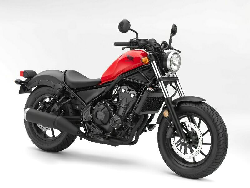 Honda Rebel 500 Mulai Diterima Konsumen Januari 2017