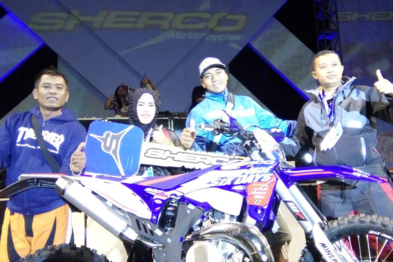 Sherco Six Days 250ccMalang