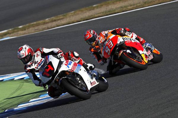Marquez Balapan Dengan Alonso di Honda Racing Thanks Day