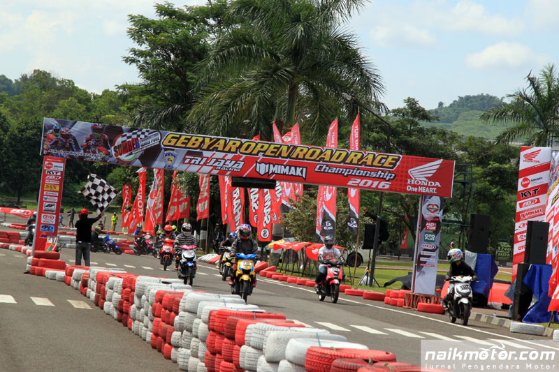 Gebyar Sumber production open road race