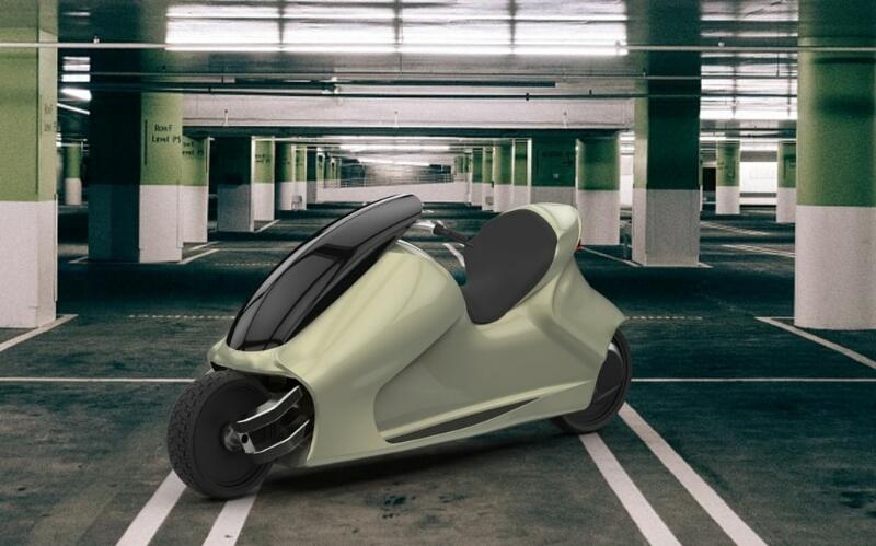 GyroCycle, Sepeda Motor yang Tidak Akan Pernah Jatuh