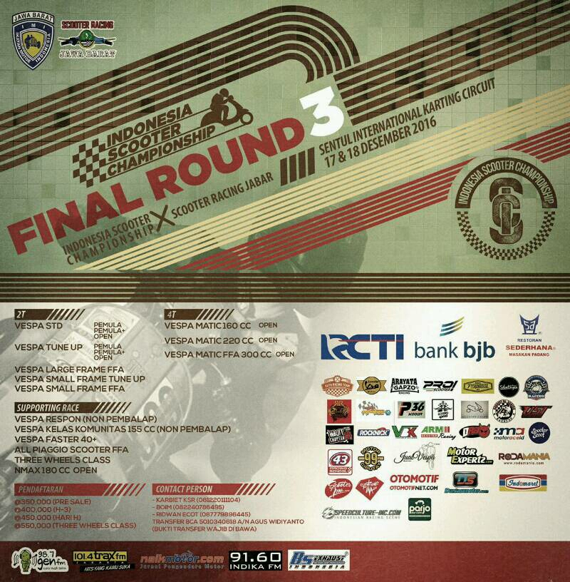 final indonesia scooter championship