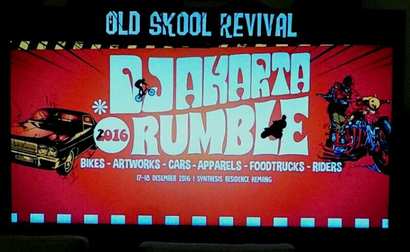 Djakarta Rumble Old Skool Revival, Memadukan Custom dan Retro