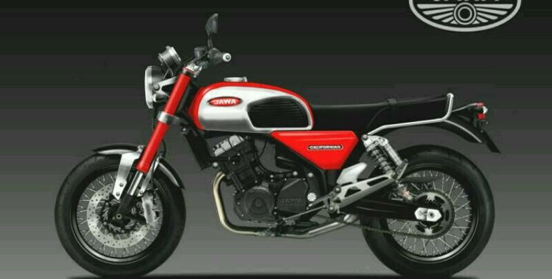 Jawa Californian Concept 351