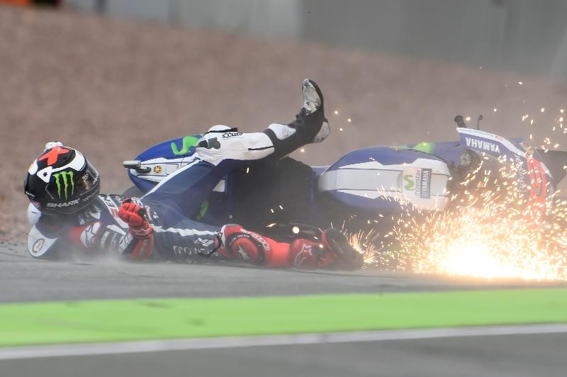 Banyaknya Kecelakaan Pada Seri MotoGP di Tahun 2016 Menjadi Teguran Keras buat Michelin