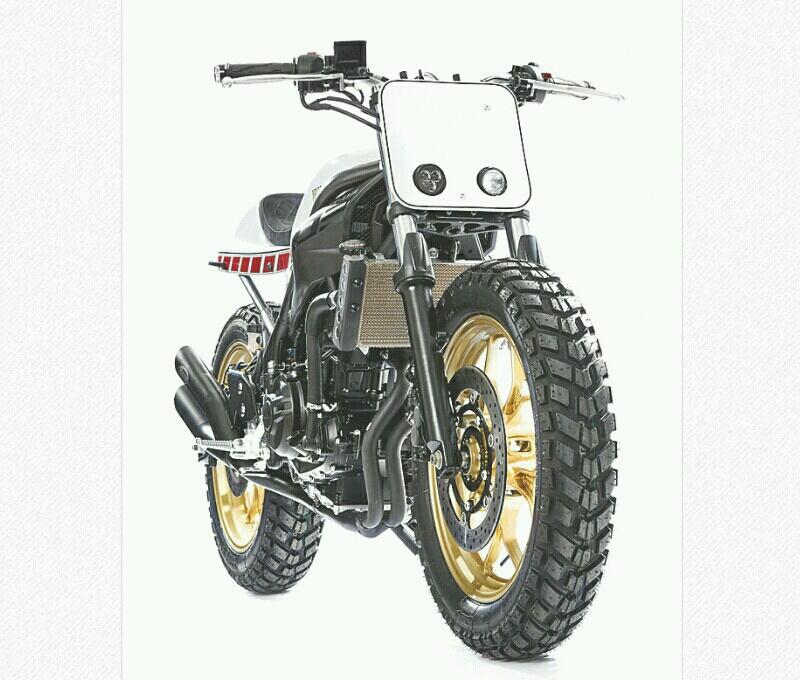 Dirt Tracker MT-03 Hasil Imajinasi Bocah 12 Tahun