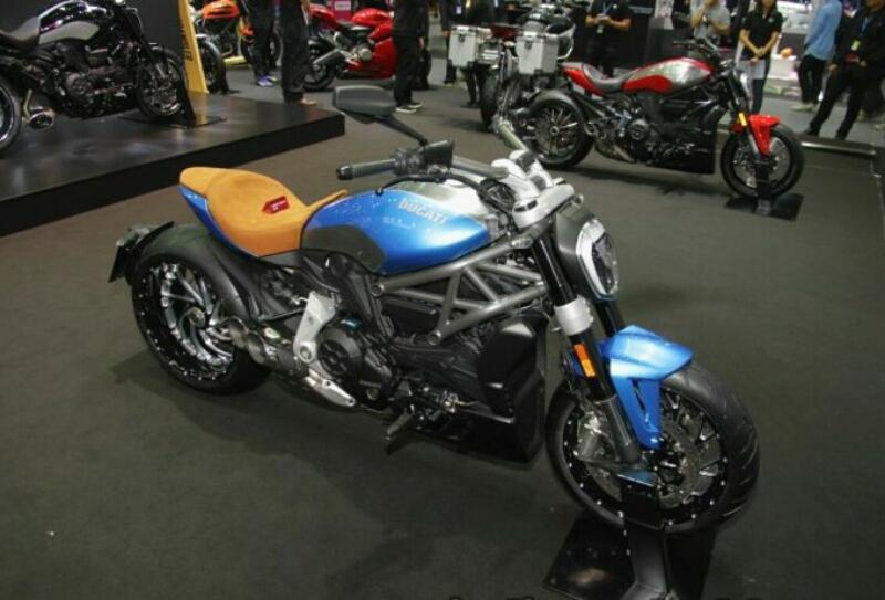 Ducati Tawarkan XDiavel Xtraordinary Oceano