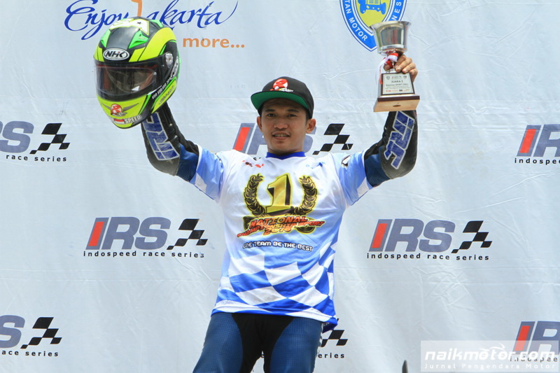 Syahrul AMin juara Kejurnas 150cc dan 250cc IRS 2016