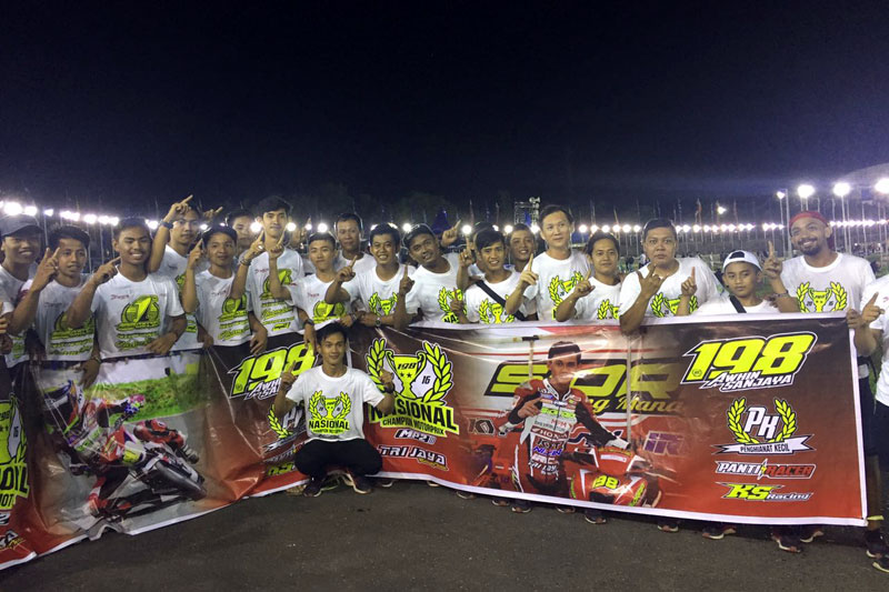 Final Kejurnas Sidrap Prix NIght Race 2016