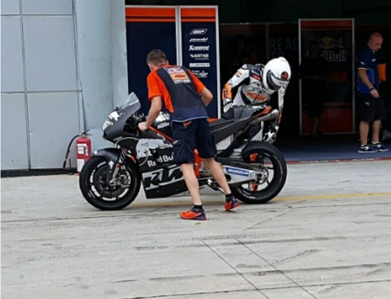 Tim KTM MotoGP Bawa Mesin Baru Saat Tes Privat Sepang