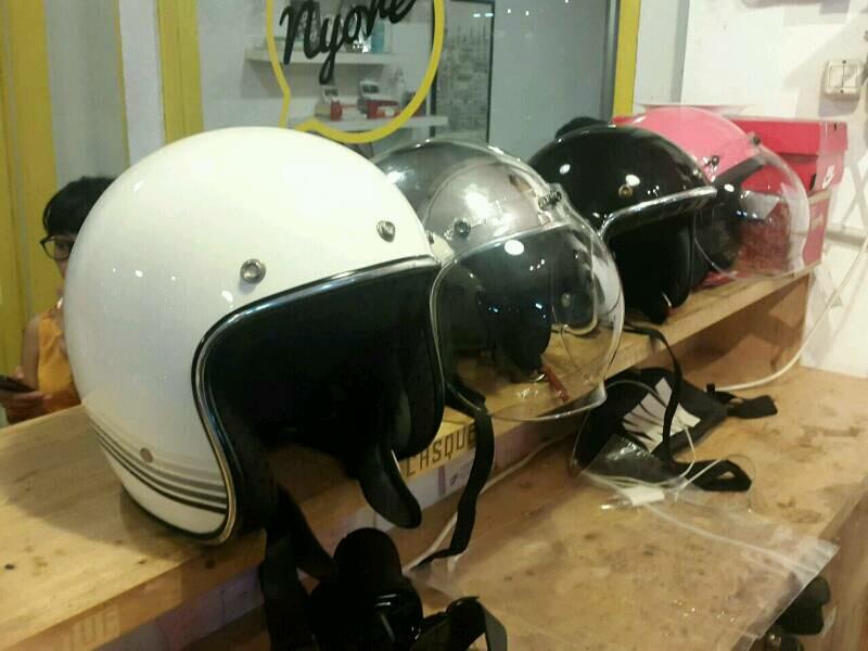 Salon helm Casque tawarkan layanan perawatan premium