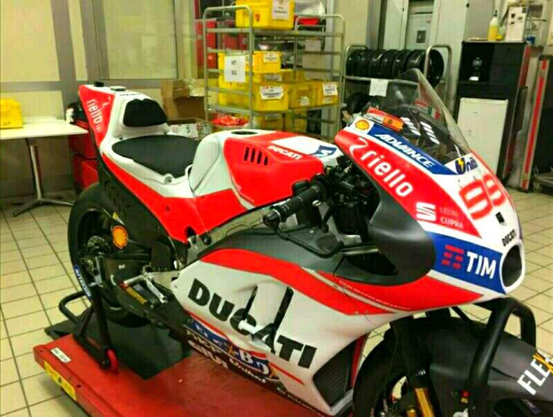 Foto Ducati Desmosedici GP17 Lorenzo Tersebar di Medsos