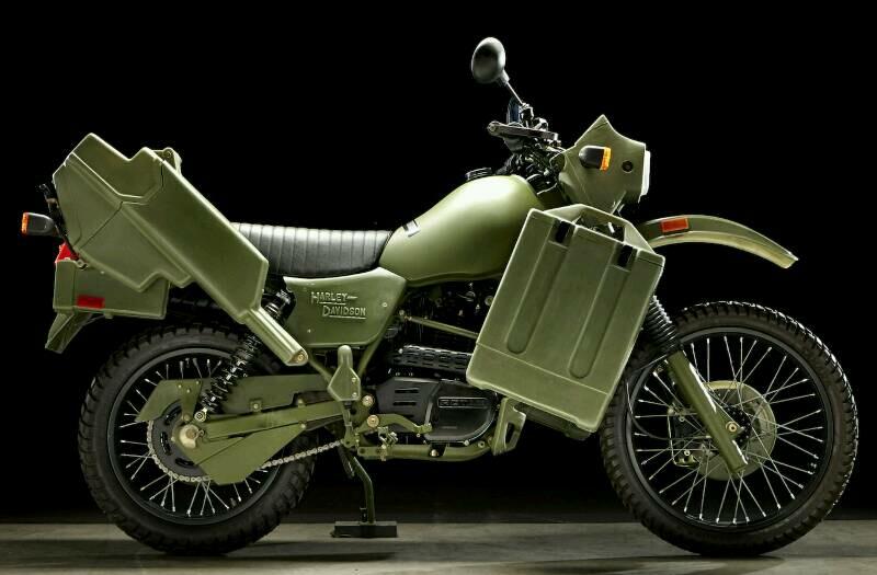 Dirtbike Harley-Davidson MT500 Menjadi Buruan Kolektor