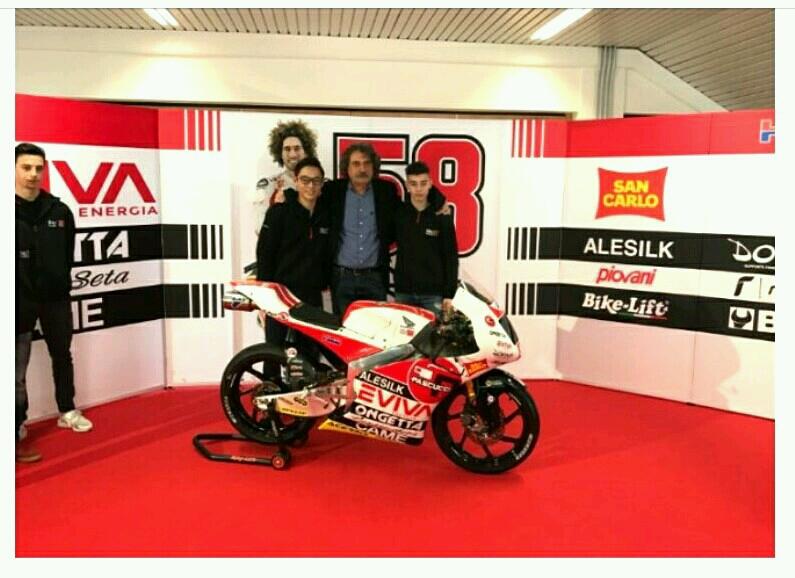 Tim Moto3 Simoncelli Diresmikan di Italia