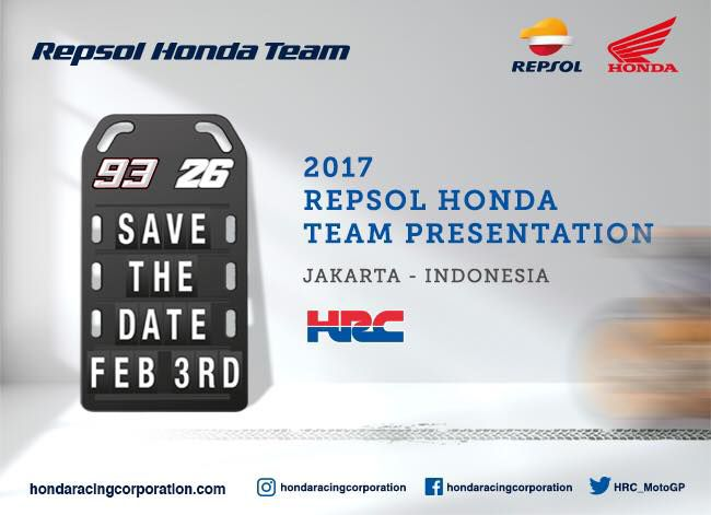 Launching Repsol Honda Team MotoGP 2017
