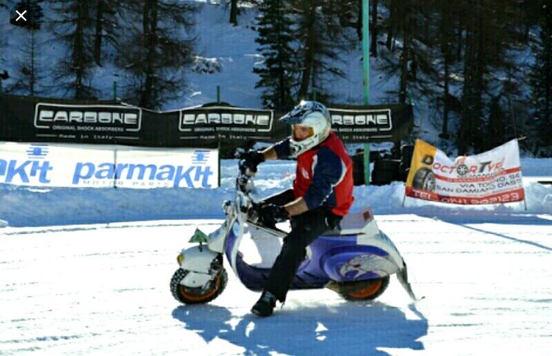 Ice Pragelato 2T Time Trial Vespa di Trek Berlapis Es