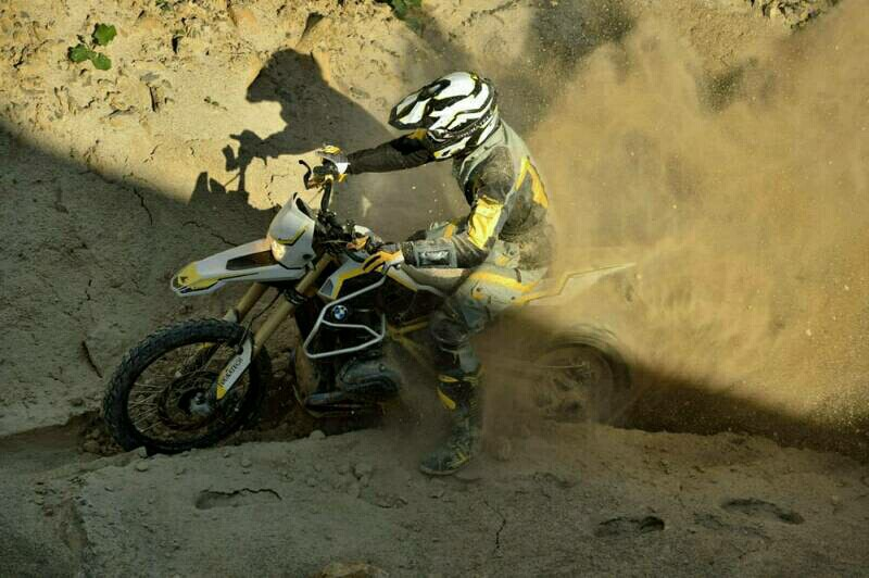 rancangan dirtbike Touratech dengan BMW R1200GS rambler