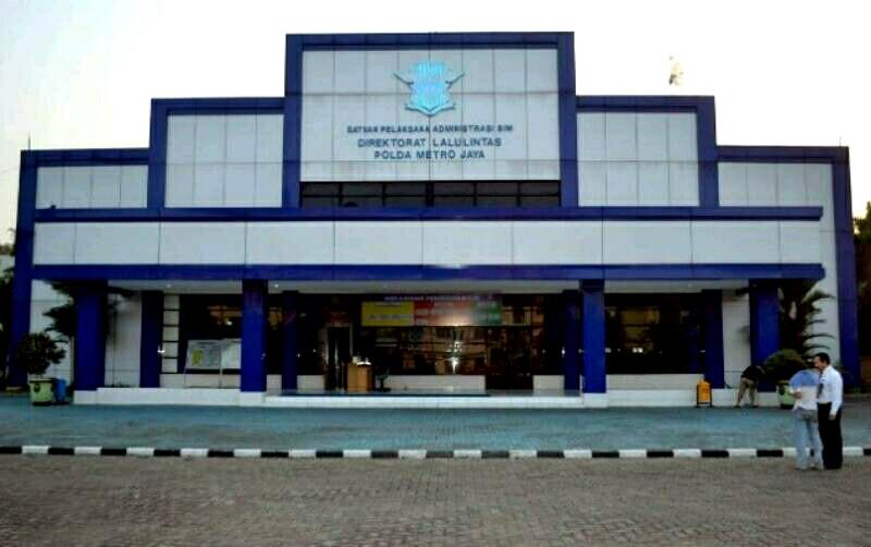 Pemohon SIM di Jakarta Tidak Lulus