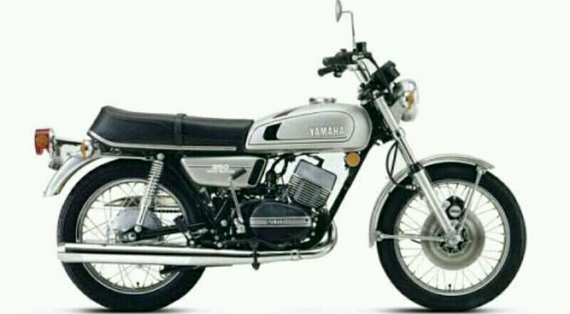 Motor Baru Yamaha XSR300 Reinkarnasi RD350