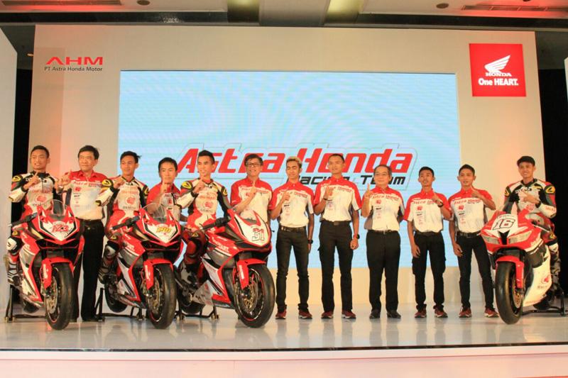 Inilah Formasi Pembalap Astra Honda Racing Team 2017