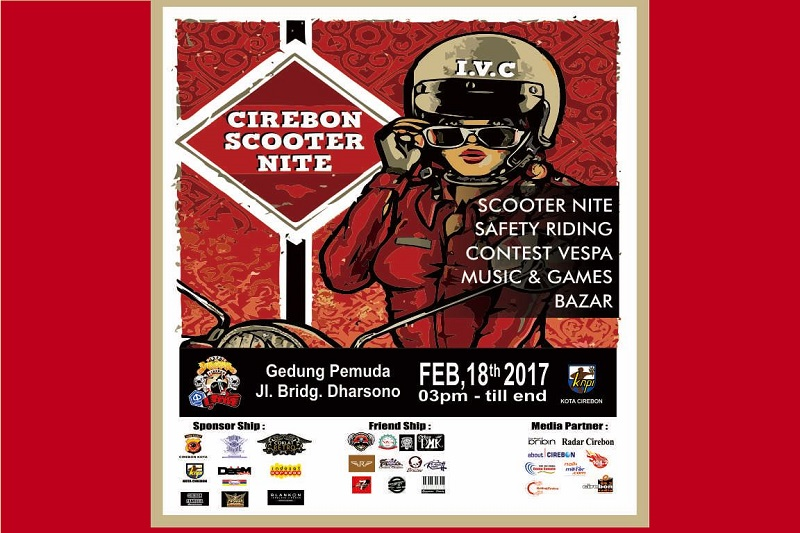 Cirebon Scooter Nite 2017