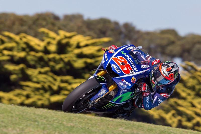 Vinales menggila di awal hari kedua tes MotoGP Australia