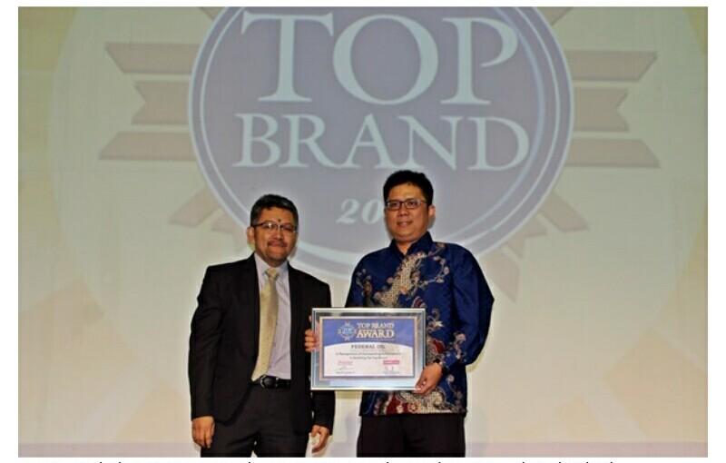 Rambah Pasar Eropa Federal Oil Raih Top Brand Award 2017