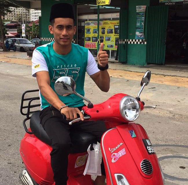 Hafizh Syahrin Gabung SIC Racing Team di Moto2 2018 dengan Petronas