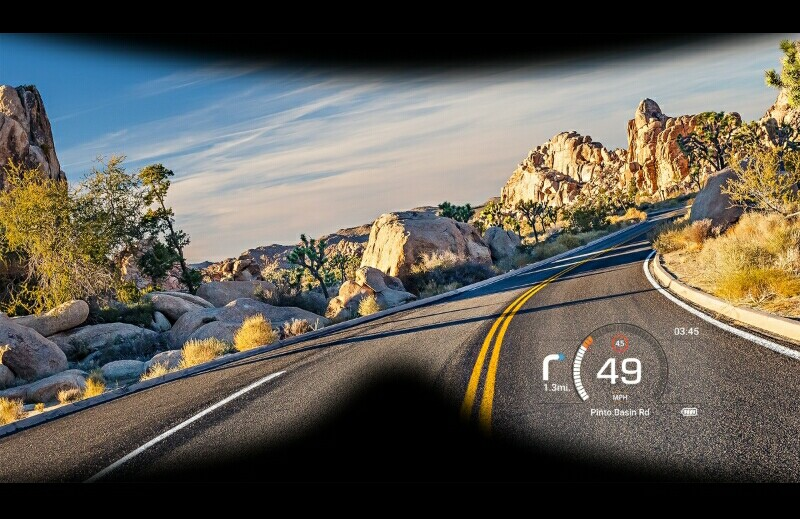 KTM Kembangkan Sistem Head Up Display untuk Helm