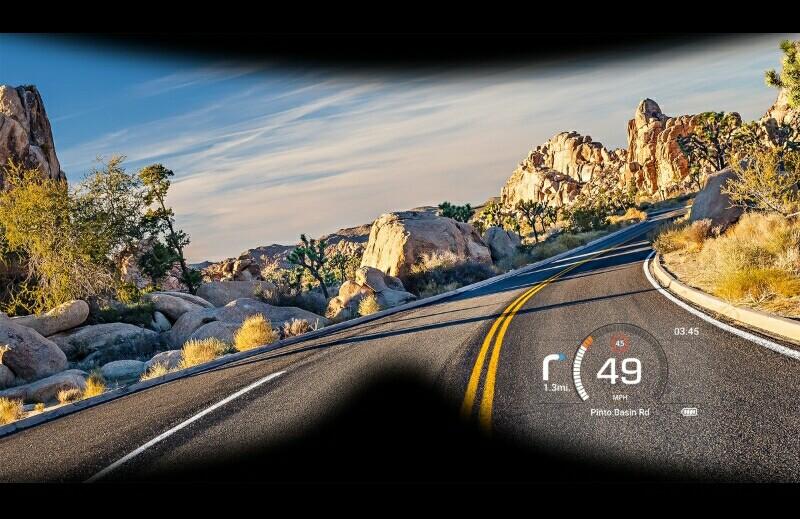 KTM Kembangkan Sistem Head Up Display untuk Helm