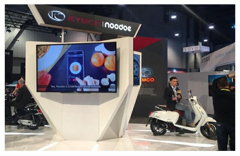 Kymco Noodoe Tawarkan Aplikasi Koneksi Pengendara dengan Skuter