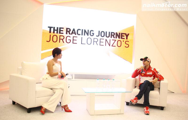 Lorenzo Beberkan Kisah Hidup