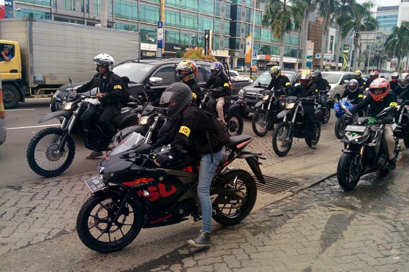 Komunitas Lintas Merek Motor Satu Semua, M15 Riders