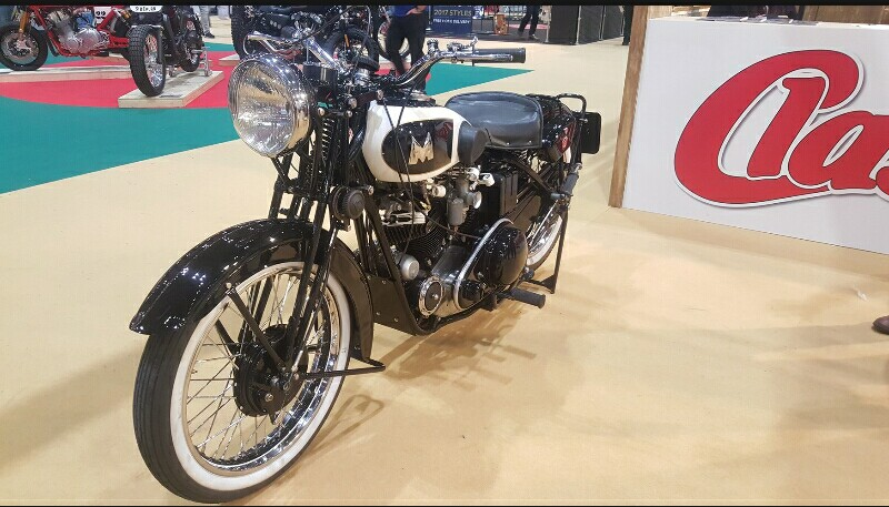 Matchless SS100 1939 Raih Classic Bike of the Year 2017