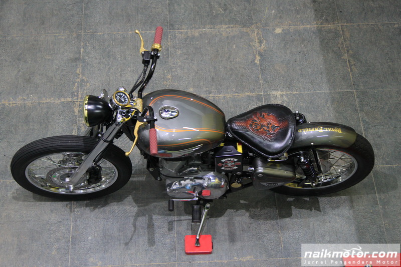 Modifikasi Royal Enfield Bullet 500 Japanese Chopper
