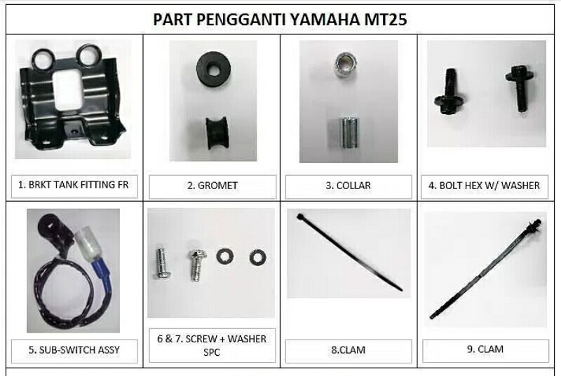 Bermasalah Pada 2 Komponen Yamaha Kembali Recall R25 dan MT25