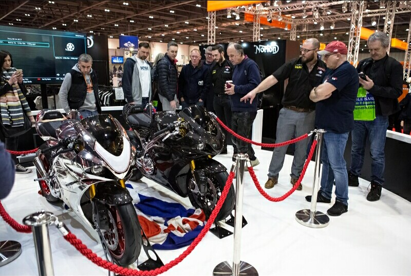 Carole Nash MCN London Motorcycle Show 2017