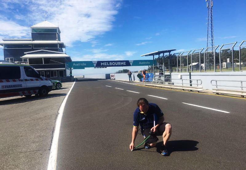 Sistem Pendeteksi Jenis Ban Michelin Dicoba di Tes MotoGP Australia