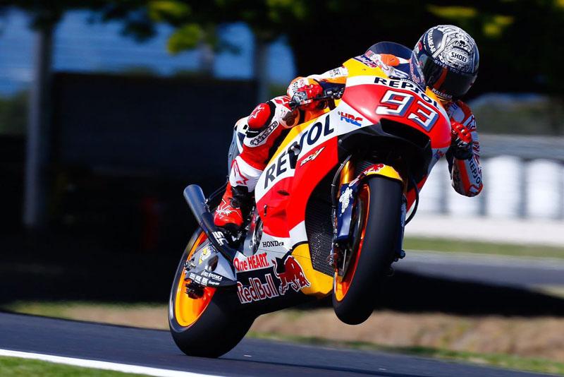 Tes MotoGP Australia