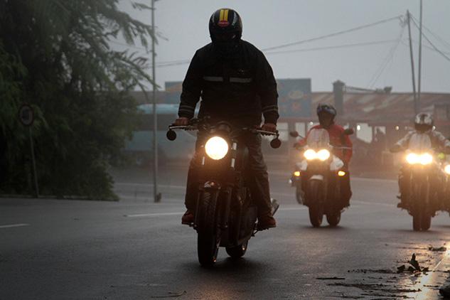 GAS Triumph Ajak Pemilik Triumph Jelajah Jawa Barat