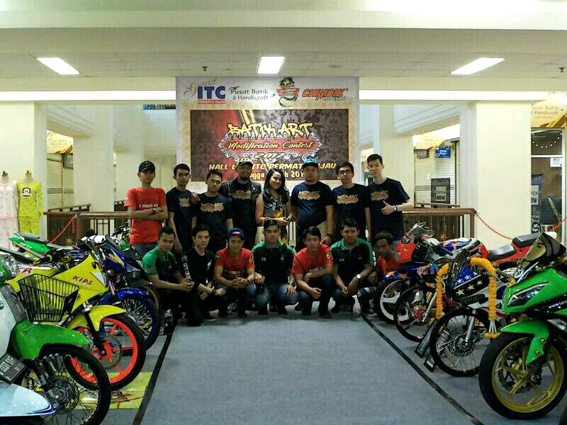 Batik Art Modification Contest Digagas NAVC Disisipi Safety Riding